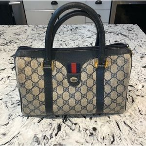 Authentic GUCCI vintage Ophidia Boston handbag